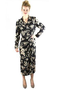 Hawaiian Wrap Dress – Nikita & Vesper