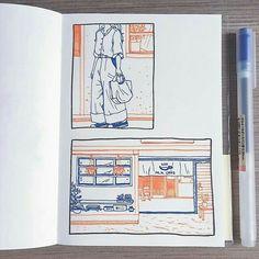 Kunstjournal Inspiration, Sketchbook Inspiration, Sketchbook Ideas, Pretty Art, Cute Art, Journal D'art, Journals, Art Du Croquis, Arte Sketchbook