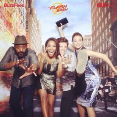"""Flash Cast  Jesse is all like """"I'm so mysterious."""" Candice is all like """"Peace out!"""" Grant is all like """"I'm so hot it burns."""" Then there's Danielle who is all like """"Grant your foot is blocking my face!"""""""