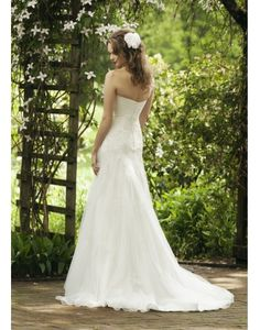 Beautiful & Unique dress - Ruching Lce Sweetheart Tulle A-line Wedding Dress on sale - Persun