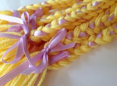 Tangled Rapunzel inspired party favor braids by DoodiesBooties, $20.00