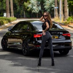Trucks And Girls, Car Girls, Sexy Cars, Hot Cars, Car And Girl Wallpaper, Weird Cars, Crazy Cars, Woman In Car, Car Poses