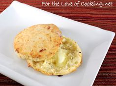 For the Love of Cooking » Parmesan and Black Pepper Biscuits