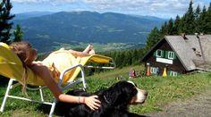 Tierischer Urlaub in Österreich - Steiermark - Naturpark Zirbitzkogel Grebenzen - Seetaler Alpen (c) Tonnerhütte www.tierischer-urlaub.com - Das Portal für Urlaub mit Hund, Katze, Pferd & Co
