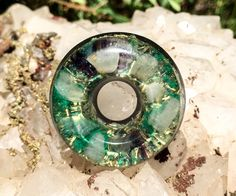 An Orgonite orgone generator created with the intention to support Inner Alchemy and the full expression of our Divine Nature. A blend of