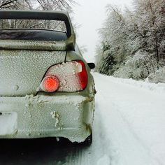 My Subaru! Except I don't have a spoiler
