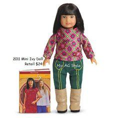 American Girl Doll Mini Ivy