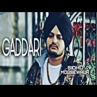 Download Gaddari mp3 song by Sidhu Moose Wala  This song is from