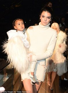 Kanye West's Yeezy 3 show sees wife Kim Kardashian and models take over Madison Square Garden   Daily Mail Online