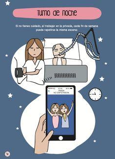 El día a día de una enfermera en apuros, en viñetas (FOTOS)