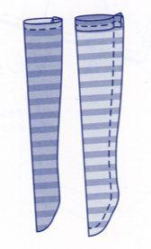 dessin chaussettes patternblythe