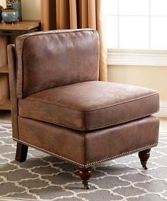 Brown Westfield Antique Armless Chair