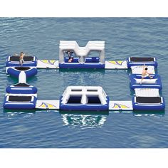 The Floating Obstacle Course - Hammacher Schlemmer THIS COST'S $13,500.00!!! NO JOKE