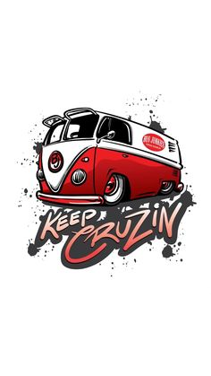Volkswagen, Vw T1, Weird Cars, Cool Cars, Auto Illustration, Motorcycle Stickers, Car Posters, Car Logos, Car Drawings