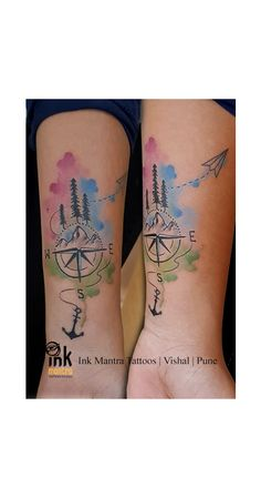 fd70124bc Ink Mantra Tattoo Studio · This beautiful Art is requested by one more  travel loving girl, who wants to explore