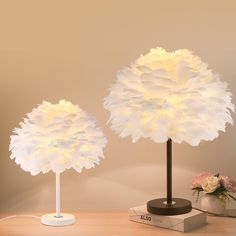 Modern Study Living Room Decoration Table Lamp White Feather Table Lights American children room Table Lamps Creative Bedroom Bedside Lamps White Table Lamp, Light Table, Cheap Table Lamps, Chinese Table, American Children, White Feathers, Bedside Lamp, Living Room Decor, Kids Room