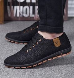 huge selection of 5b9d3 3cc43 Mens casual breathable low lace up shoes - mens style brand fashion  attire affordable sneakers -