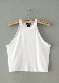 5 colors 2016 New Women Summer Tight Cotton Elastic Crop Tops Cute Sleeveless T-shirts Lady Sexy Stretchable Cropped Tees Summer Outfits, Cute Outfits, Trendy Outfits, Cotton Crop Top, Moda Casual, Cute Crop Tops, Sleeveless Crop Top, Fast Fashion, Women's Fashion