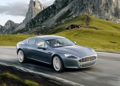 The Aston Martin was unveiled at the Frankfurt Auto Show in 2003 and went into production in 2004 and is still being produced today. The is available as a coupe and a convertible (know as the Volante). Aston Martin Rapide, Aston Martin Cars, Automotive News, Sweet Cars, Car In The World, Car Manufacturers, Limousine, Car Rental, Luxury Cars