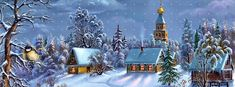 1000+ images about Christmas on Pinterest | Winter scenery, Winter ...