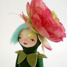 Flower doll by  Yalipaz - Art and accessories