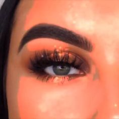 aesthetic makeup videos Tiger Eyes By: makeupbyserenacleary Makeup Eye Looks, Pink Eye Makeup, Eye Makeup Brushes, Colorful Eye Makeup, Eye Makeup Remover, Eye Makeup Tips, Glam Makeup, Makeup Goals, Skin Makeup