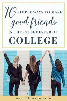 10 Simple Ways To Make Friends In Your Semester of College at the Honey Scoop - how to make frie College Freshman Tips, Scholarships For College, College Hacks, Freshman Year, College Life, College Students, College Club, College Success, College Board