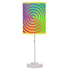 Rainbow Spiral Lamp