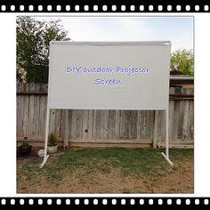 Outdoor Projector Screen Tutorial