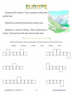 worksheets on europe | Worksheet - Wild Animals from Europe ...