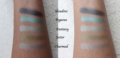 COMPLETE REVIEW: Makeup Geek Foiled Shadows: Part-2 #makeupgeekcosmetics
