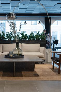 The Thon Hotel Norge decorated with the Calmo Sofa designed by Hugo Passos and the Tabeau Coffee Table designed by Space Copenhagen. Both designs are suitable for any hotel lobby or lounge area. Photograph by aptum.no #fredericiafurniture #calmosofa #hugopassos #tableaucoffeetable #spacecopenhagen #scandinaviandesign #craftedtolast #modernoriginals #hotelinterior #interiordesign #lobbyinspiration Coffee Table Design, Coffee Tables, Sofa Design, Interior Design, Space Copenhagen, Hotel Lounge, Hotel Lobby, Lounge Areas, Scandinavian Design
