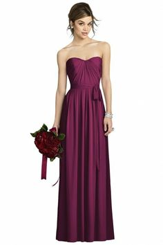 Robe élégante en violet