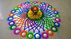 Latest Beautiful Diwali Special Rangoli Collection - Live Enhanced Explore the Latest Beautiful Special Rangoli Collection at Live Enhanced.visit for more ideas and decoration tips specially for Diwali Festival.