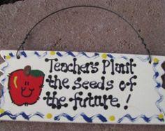 SALE Teacher Appreciation Gift Teachers Plant by DistinctlyIvy