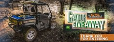 #Win the $10,000 crossover utility vehicle https://www.stihlusa.com/stihl-timbersports/gatorgiveaway#.V-K7umvoRpQ.twitter #Sweepstakes