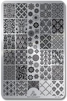 You're a Damasque 01 Plate yours nail stamping plates - Nail Stamping Stamping Nail Polish, Nail Stamping Plates, Image Plate, Tangle Art, Nail Art Supplies, Deco Floral, Nail Supply, Zentangle Patterns, Zentangles