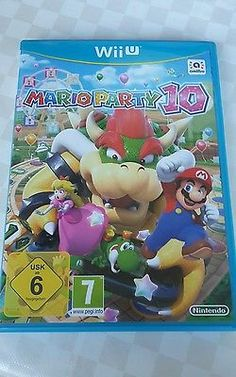 Mario Party 10 (Nintendo Wii U, 2015, DVD-Box)