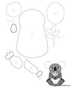 Como hacer un koala de fieltro paso a paso04