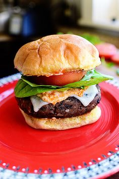 """Black Bean Burgers recipe--not sure what she means by canned """"Seasoned Black Beans""""--take a wild guess!  Make it a cooking adventure!"""