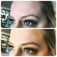MICROBLADING Here is the before & after of my brows: a tiny blade deposits pigment on the surface of your skin to create hair strokes to make your brows look fuller & thicker! Looks super natural & lasts up to a year! Microblading Eyebrows After Care, What Is Microblading, Eyebrow Before And After, Courtney Kerr, Eyebrows On Fleek, Perfect Brows, Eyebrow Tattoo, Super Natural, Permanent Makeup