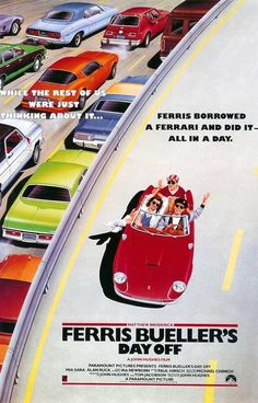 One of my feel good movies - Ferris Bueller's Day Off (1986), Directed by John Hughes