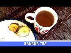 Healthy Recipe for Banana Tea to help you sleep