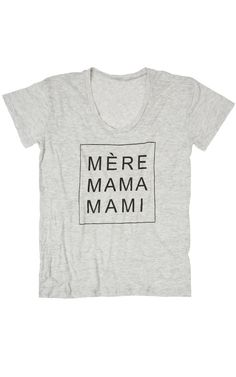 Mami Tee (2 Colors)