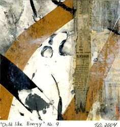 Childlike Energy No.9 - International Museum of Collage, Assemblage and Construction, collage, collage art, collage artist, collage on paper, collages, collage artists,
