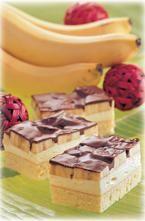 Bananas cremiger Obstkuchen mit Bananen