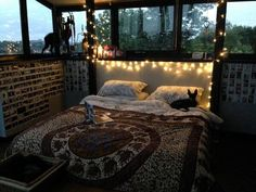 """Photo"" cutest boho room ever, I wish I had those windows!"