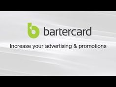 You can use BARTERCARD to INCREASE YOUR ADVERTISING AND PROMOTIONS. Want to learn how? @Denna Szwajkowski, Business Development Manager, BARTERCARD BRISBANE NORTH will show you how.