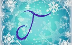 <<DIRECTLY FROM SITE>> Frozen Snowflake: J