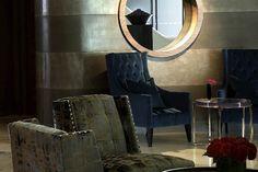 comfortable soft furnishing for bar lounge
